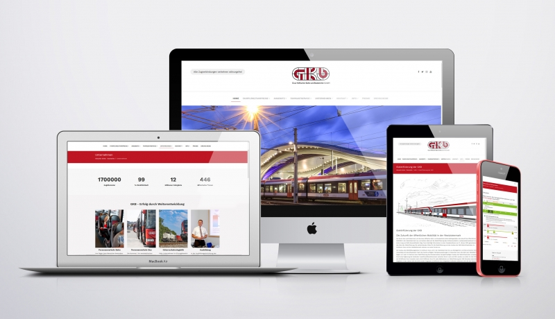 Re-Design der GKB-Homepage